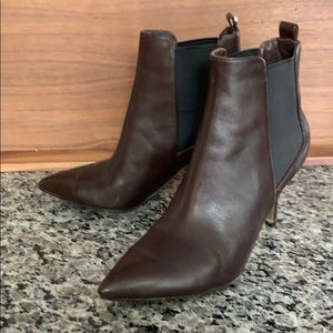 Like new pair of Michael Kors brown booties - 5.5